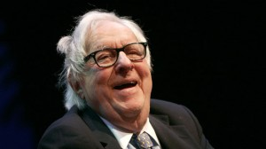 Author Ray Bradbury, ninety one