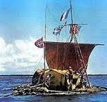 sea voyage in Kon Tiki