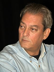 First up, Paul Auster. (okay okay You probably came here to get the scoop agent Mary Kole. Be patient She's next!) Paul Auster does not write books for ... - FilePaul_Auster_BBF_2010_Shankbone